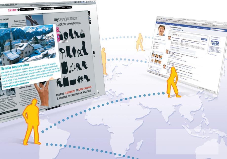 catalogue virtuel avec fonction partage