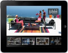 app-ipad-maisons-du-monde-prestimedia