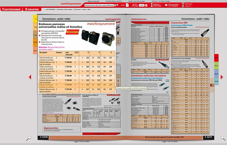 Radiospares catalogue