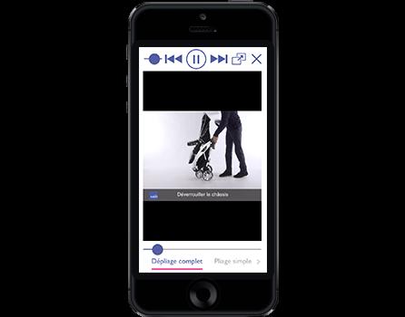 Application iPhone développée par Prestimedia pour Aubert