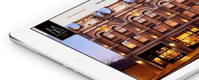 Application iPad pour MGallery par Prestimedia