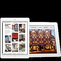 catalogue interactif pour Applications tablettes ou smartPhones
