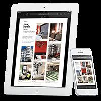 catalogue interactif pour tablettes et smartPhones