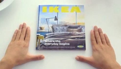 Catalogue Ikea parodie Apple