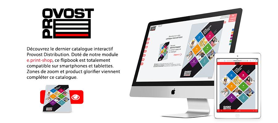 Catalogue interactif Provost Distribution