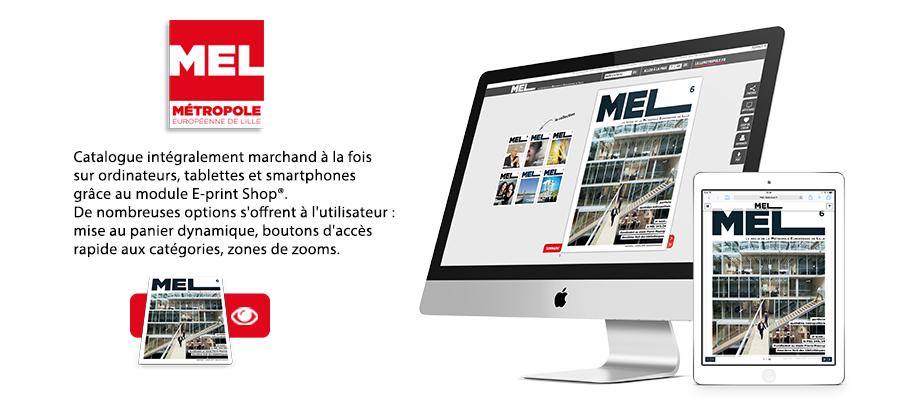 Revue interactive de Métropole Européenne de Lille