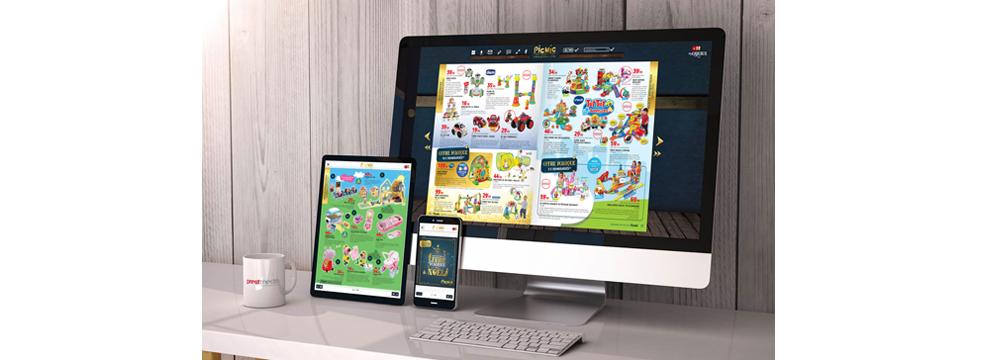 catalogue interactif Picwic